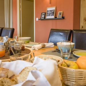 Petit déjeuner à la maison du lac de Malaguet