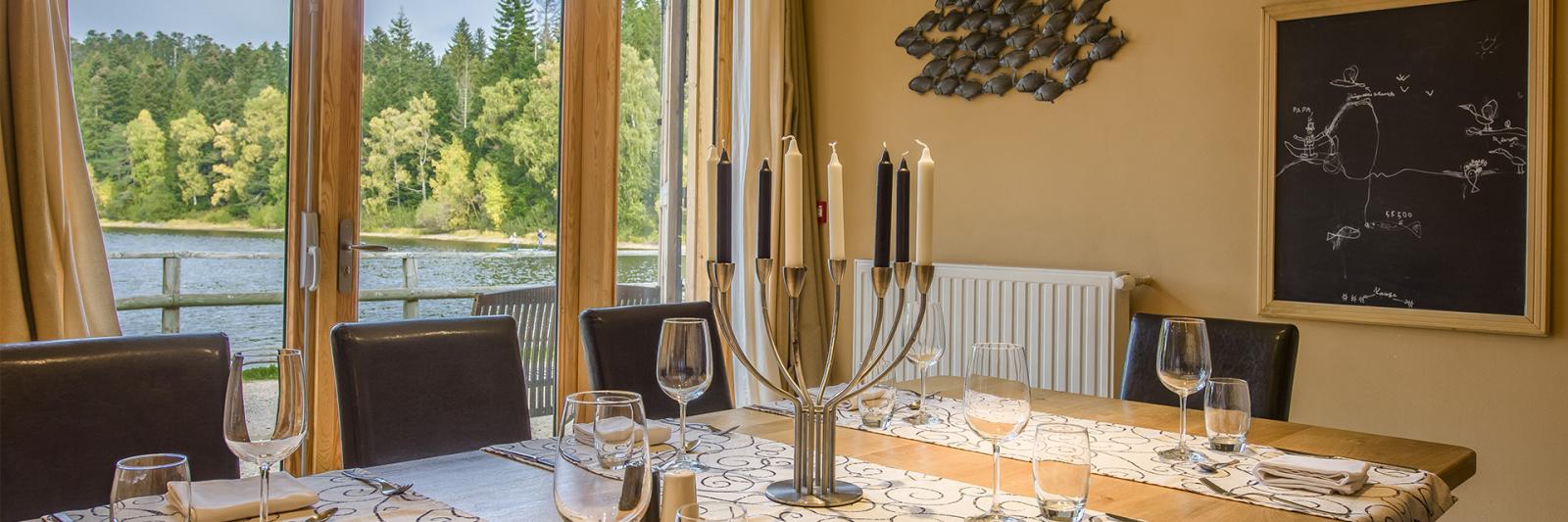 Table d'hôtes de la maison du lac de Malaguet